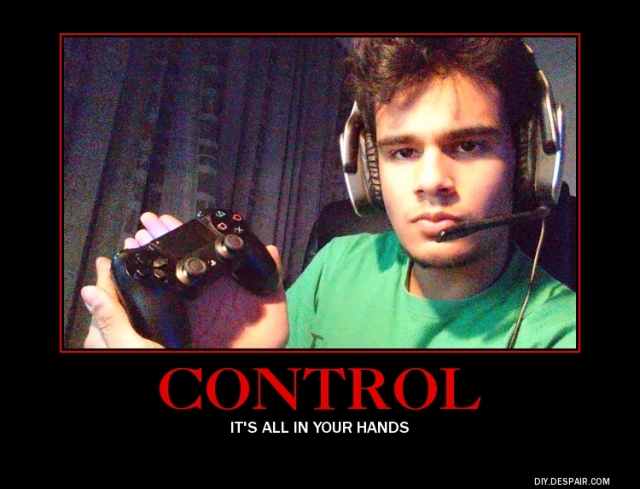 Lack of control?